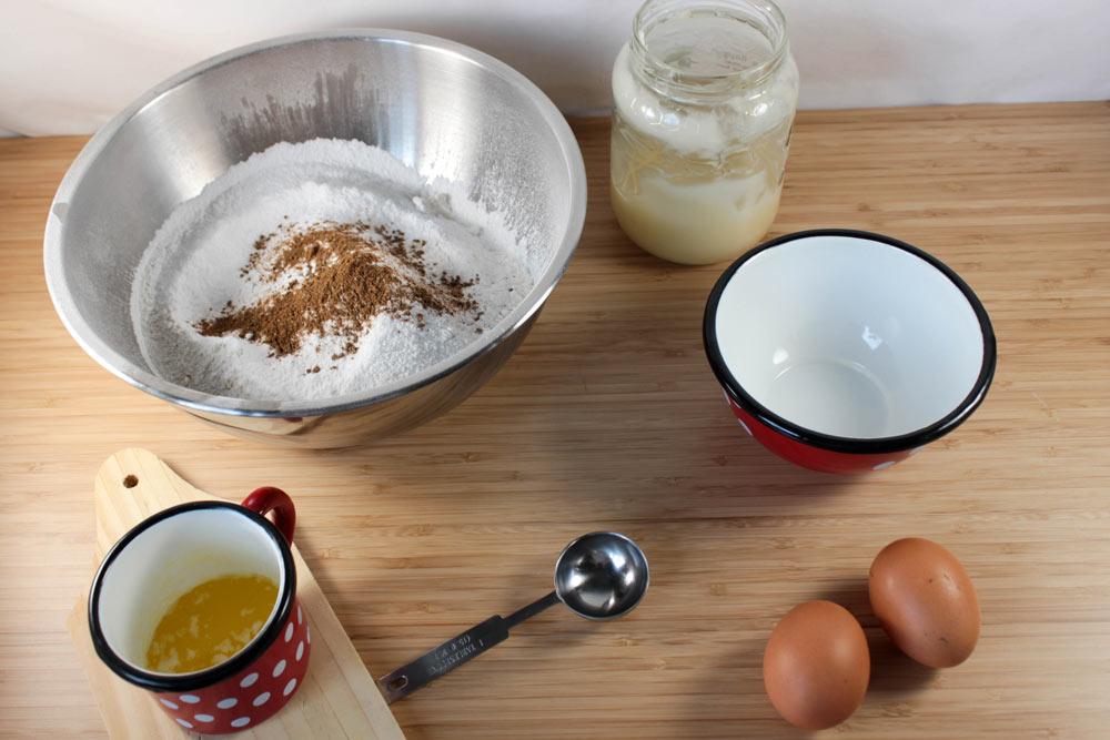 Ingrediencie na medovníky