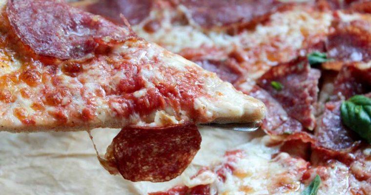 Domáca pizza z celozrnnej múky