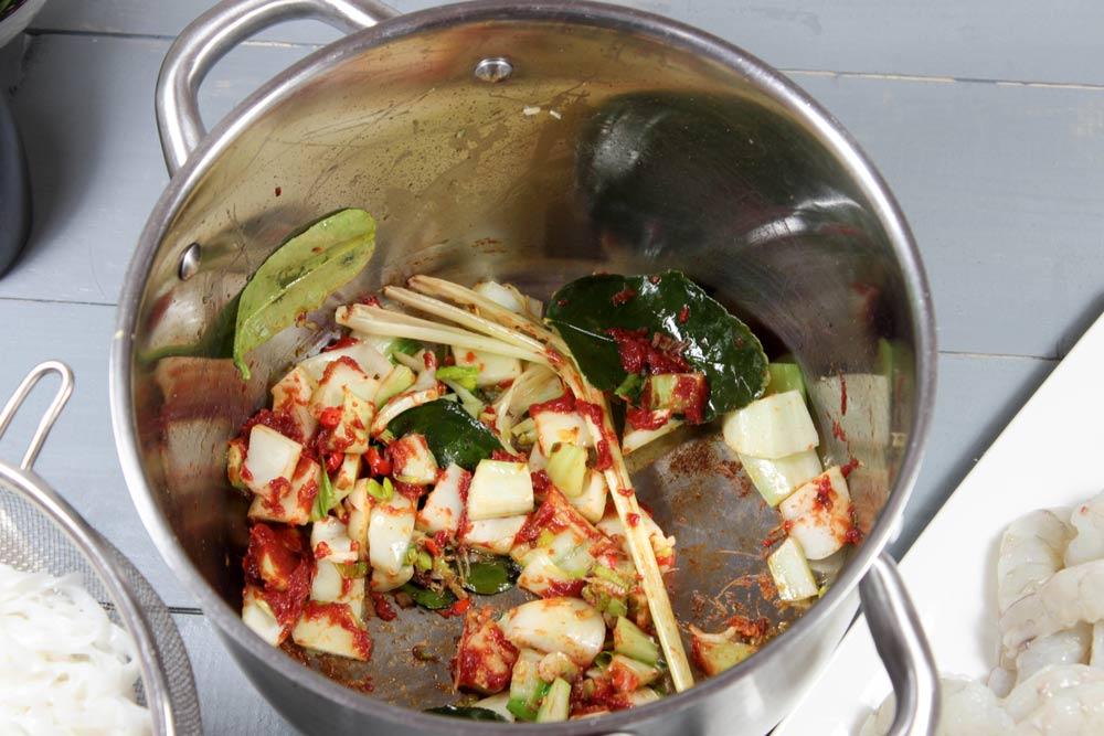 Základ krevetovej polievky
