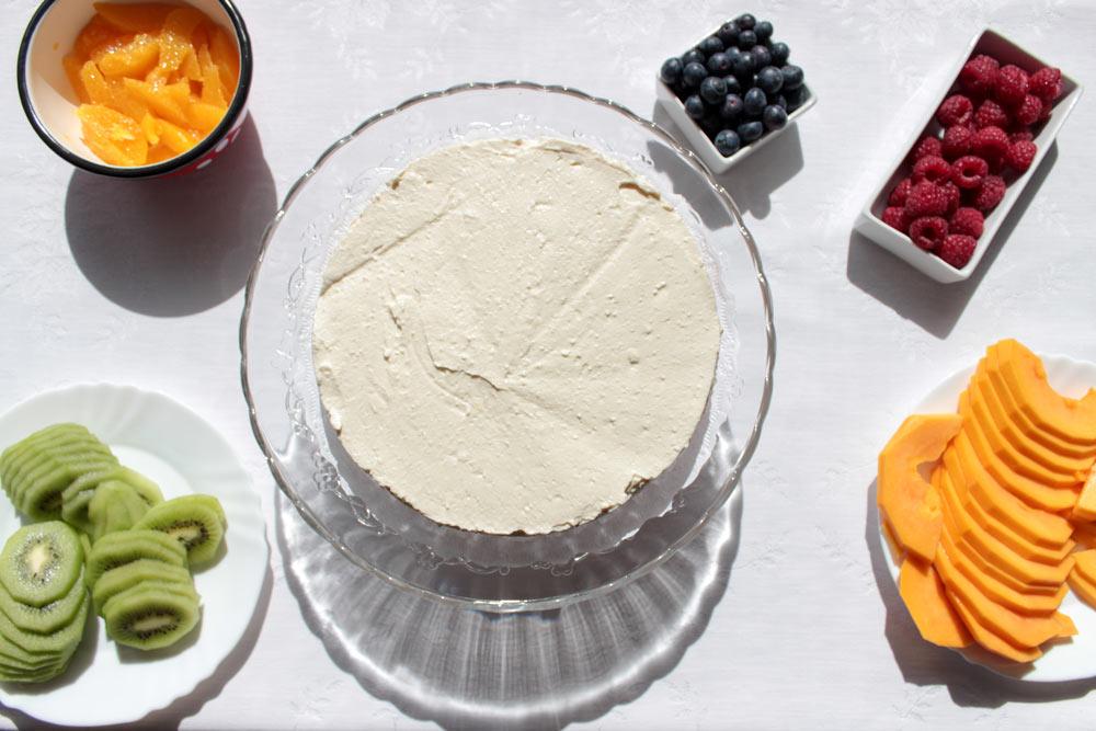 Torta pred zdobením