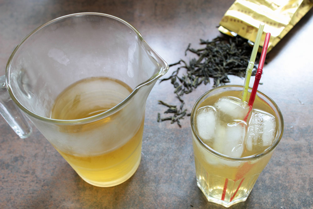 Home-made iced tea