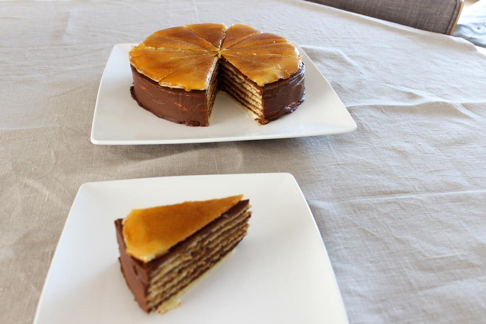 Slávnostná dobošova torta