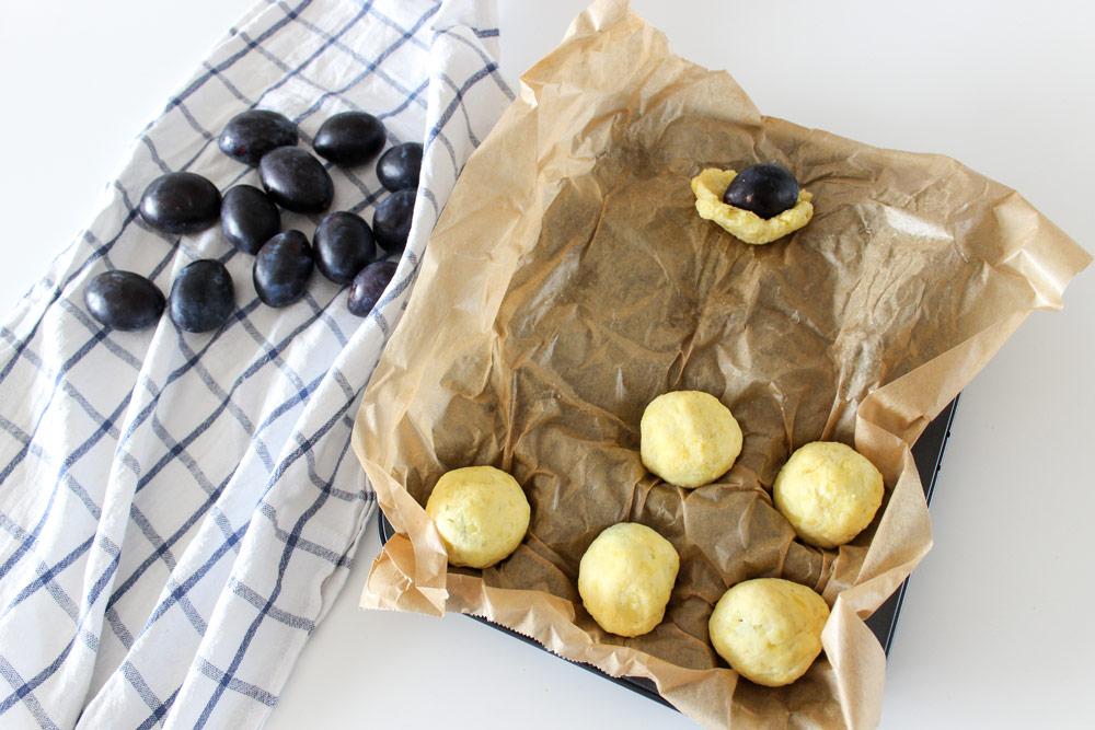 Slivkové gule v zemiakovom cestíčku